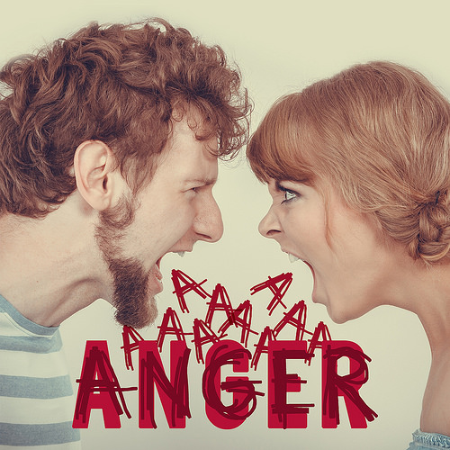 Anger! A couple arguing :(